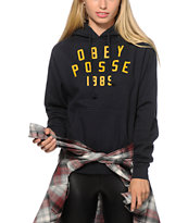 Obey Phys Ed Crew Neck Sweatshirt