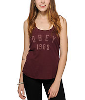 Obey Phys Ed Tank Top