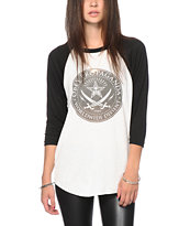 Obey Pirates Baseball Tee