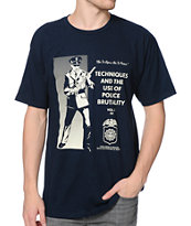 Obey Police Brutality Navy T-Shirt