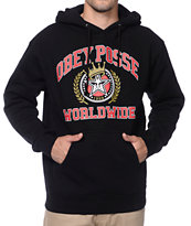 Obey Posse Worldwide Black Pullover Hoodie