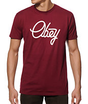 Obey Prep Script T-Shirt