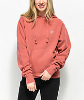 Obey Proof Type Dusty Rose Hoodie