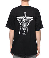 Obey Propaganda Masons Black Tee Shirt