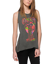 Obey Reap The Night Braided Back Tank Top
