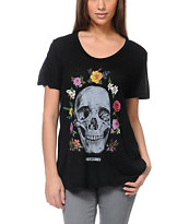 Obey Reincarnation Black Beau Tee Shirt