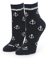 Obey Riptide Anchor Ankle Socks