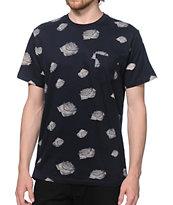 Obey Roses Pocket T-Shirt
