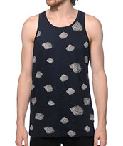 Obey Roses Pocket Tank Top