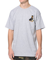 Obey Rot Grey Tee Shirt