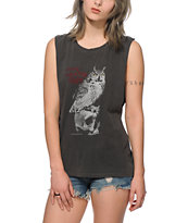 Obey Rules The Night Muscle Tee