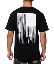 Obey Run Sucka Run Black Tee Shirt