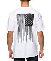 Obey Run Sucka Run White Tee Shirt