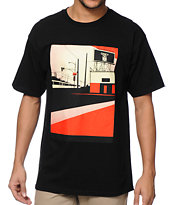 Obey San Diego Billboards Black Tee Shirt