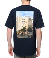 Obey San Diego Photo Navy Tee Shirt