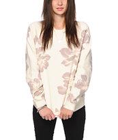 Obey Seygrid Floral Crew Neck Sweatshirt
