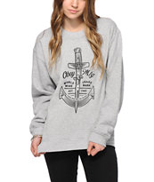 Obey Shankor Crew Neck Sweatshirt
