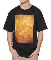 Obey Shepard Black Floral T-Shirt