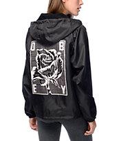Obey Slacker Hooded Coaches Jacket