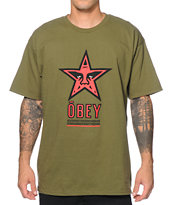 Obey Star 96 Tee Shirt