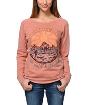 Obey Stay Weird Picante Crew Neck Sweatshirt