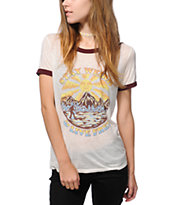 Obey Stay Weird Ringer T-Shirt