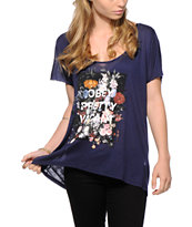Obey Steal Life Dolman T-Shirt