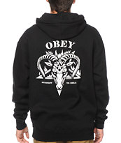 Obey Straight To Hell Hoodie