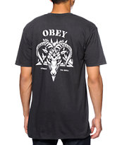 Obey Straight To Hell Tee Shirt
