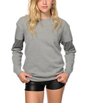 Obey Street Thief Crew Neck Sweatshirt