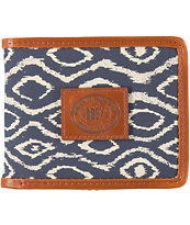 Obey Temple Indigo Bifold Wallet
