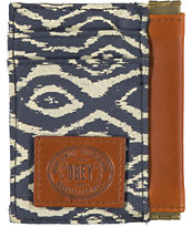 Obey Temple Indigo ID Wallet
