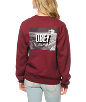 Obey The End Crew Neck Sweatshirt