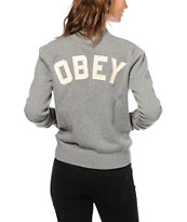 Obey Tompkins Fleece Jacket