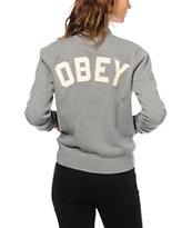 Obey Tompkins Fleece Jacket