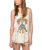 Obey Tons Of Guns Tie Dye Tank Top