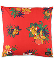 Obey Tourist Red Throw Pillow