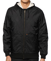 Obey Trekker Quilted Jacket