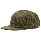 Obey Trippy Army 5 Panel Hat