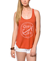 Obey Tyranny High Seas Red Tank Top