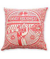 Obey Unbreakable Records Pillow