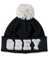Obey University Pom Beanie