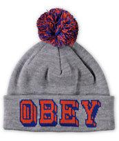 Obey University Pom Beanie