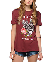 Obey Victory Rose T-Shirt