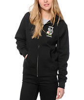 Obey Victory Rose Zip Up Hoodie