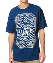 Obey Voltage Blue Tee Shirt