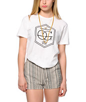 Obey Wave OG White T-Shirt
