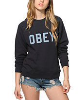 Obey Waverly Crew Neck Sweatshirt