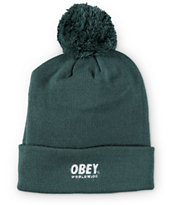 Obey Worldwide Pom Beanie