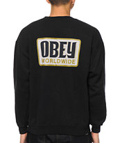 Obey Worldwide Posse Crew Neck Sweatshirt
